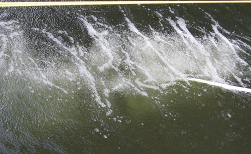 woda w czasie napowietrzania
